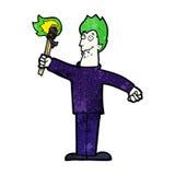 Cartoon spooky vampire Royalty Free Stock Photos