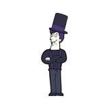 Cartoon spooky vampire Royalty Free Stock Photography
