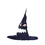 Cartoon spooky witches hat Royalty Free Stock Photography