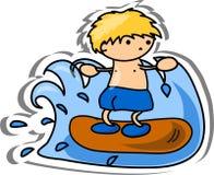 Cartoon sport icon,vector Royalty Free Stock Photography