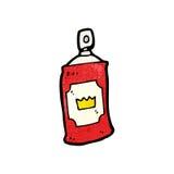 Cartoon spray can Royalty Free Stock Photos