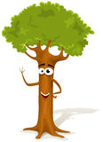 Cartoon Spring Tree Character Stock Image