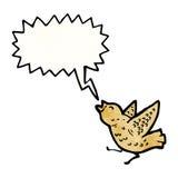 Cartoon squawking bird Stock Photo