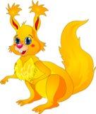 Cartoon squirrel Royalty Free Stock Photos