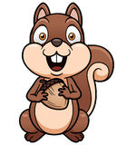 Cartoon squirrel Stock Photo