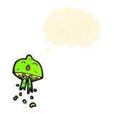 Cartoon squirting lime Stock Photos