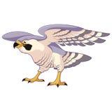Cartoon standing falcon Royalty Free Stock Photography