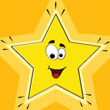 Cartoon star Royalty Free Stock Image