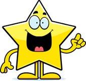 Cartoon Star Idea Stock Photography
