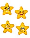 Cartoon stars Royalty Free Stock Photos