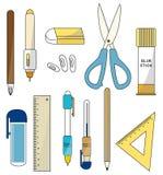 Cartoon stationery icon Stock Image