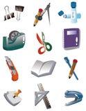 Cartoon Stationery icon Royalty Free Stock Photography