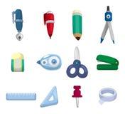 Cartoon Stationery icon Stock Photo