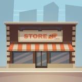 Cartoon Store Stock Photography