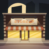 Cartoon Store Royalty Free Stock Photo