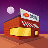 Cartoon Store Royalty Free Stock Photography