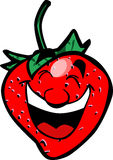 Cartoon Strawberry Royalty Free Stock Photos