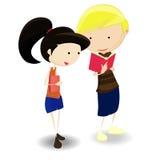 Cartoon Students Stock Image