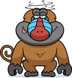 Cartoon Stupid Baboon Stock Photos