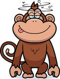 Cartoon Stupid Monkey Stock Images