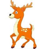 Cartoon style little deer Royalty Free Stock Photos