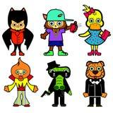 Cartoon style Stock Image