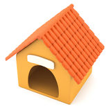 Cartoon styled doghouse Stock Photo