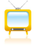 Cartoon styled tv Royalty Free Stock Photo