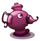 Cartoon Stylized Teapot. Stock Photography