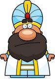 Cartoon Sultan Bored Stock Image