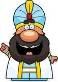 Cartoon Sultan Idea Stock Images