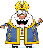 Cartoon Sultan Idea Royalty Free Stock Images
