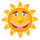 Cartoon Sun Royalty Free Stock Image