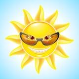 Cartoon Sun Stock Photography