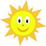 Cartoon sun Stock Image