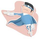 Cartoon super hero Royalty Free Stock Images