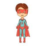 Cartoon superhero Royalty Free Stock Photography