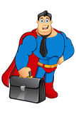 A Cartoon Superhero Character Royalty Free Stock Photos