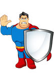A Cartoon Superhero Character Stock Images