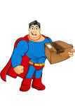 A Cartoon Superhero Character Royalty Free Stock Photography