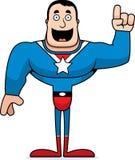 Cartoon Superhero Idea stock illustration