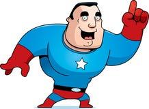 Cartoon Superhero Idea Stock Image