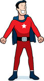 Cartoon Superhero Sidekick. A cartoon superhero sidekick in a red costume Royalty Free Stock Photo