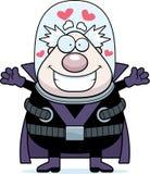 Cartoon Supervillain Hug Royalty Free Stock Images