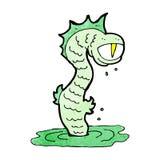 Cartoon swamp monster Stock Photos