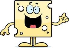 Cartoon Swiss Cheese Idea Royalty Free Stock Photos