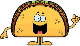 Cartoon Taco Idea Royalty Free Stock Photography