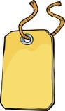 Cartoon tag vector illustration