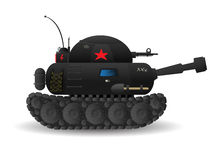 Cartoon tank Royalty Free Stock Photos
