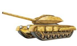 Cartoon tank Stock Images